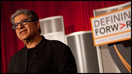 Deepak Chopra at the 2012 GBCHealth Conference